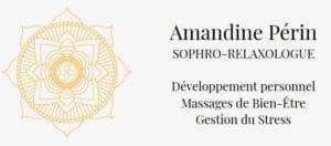 logo amandine perin relaxologue