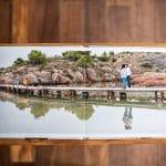 album photo lonowaï épuré photographie dessus pages ouverture à plat